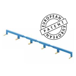 02226 - 1/2 6-полюсный шинный соединитель