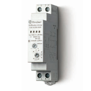 158182300500 - 1/2 Модульный электронный диммер для люминесцентных и светодиодных ламп