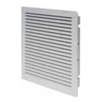 7f0500004000 - 1/1 Фильтр на вытяжке для щитовых вентиляторов