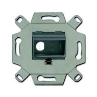2CKA000230A0446 - Адаптор/суппорт для RCA-разъёмов (колокольчик/тюльпан), цвет серый