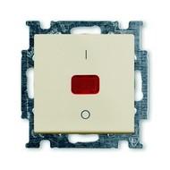 2CKA001020A0090 - Выключатель с клавишей, 2-полюсный, 20 А, Basic 55, слоновая кость