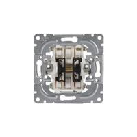 1065.00 - Механизм 2-клавишного выключателя, 1-полюсного, 16А/250В (схема 5)