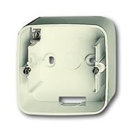 2CKA001799A0977 - Коробка для открытого монтажа, 1 пост, серия Busch-Duro 2000 SI, цвет слоновая кость