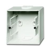 2CKA001799A0921 - Коробка для открытого монтажа, 1 пост, серия future, цвет белый бархат