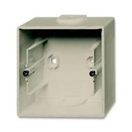 2CKA001799A0962 - Коробка для открытого монтажа, 1-постовая, серия Basic 55, цвет шампань