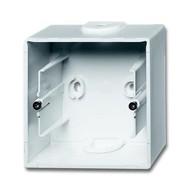 2CKA001799A0974 - Коробка для открытого монтажа, 1-постовая, серия Basic 55, цвет альпийский белый