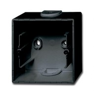 2CKA001799A0965 - Коробка для открытого монтажа, 1-постовая, серия Basic 55, цвет chateau-black
