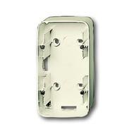 2CKA001799A0979 - Коробка для открытого монтажа, 2 пост, серия Busch-Duro 2000 SI, цвет слоновая кость