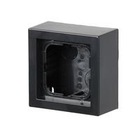 2TKA00001617 - Коробка для накладного монтажа, Impressivo, антрацит