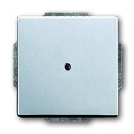 2CKA001710A3664 - Заглушка с суппортом, серия solo/future, цвет серебристо-алюминиевый