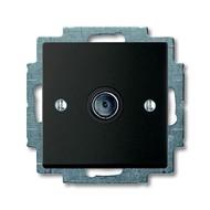 2CKA001724A4313 - Механизм ТВ-розетки, одиночная (единственная), серия Basic 55, цвет chateau-black