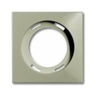 2CKA001753A0202 - Плата центральная (накладка) для светосигнализатора 2061/2061 U, серия Basic 55, цвет шампань