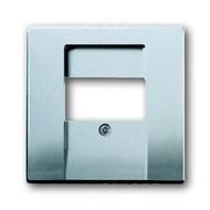 2CKA001710A3659 - Плата центральная (накладка) для механизмов UAE/TAE, для 0247 и 0248, серия solo/future, цвет серебристо-алюминиевый