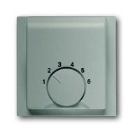 2CKA001710A3554 - Плата центральная (накладка) для механизма терморегулятора (термостата) 1094 U, 1097 U, серия impuls, цвет шампань-металлик