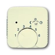 2CKA001710A3555 - Плата центральная (накладка) для механизма терморегулятора (термостата) 1095 U, 1096 U Busch-Duro 2000 SI слоновая кость