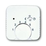 2CKA001710A3556 - Плата центральная (накладка) для механизма терморегулятора (термостата) 1095 U, 1096 U, серия Reflex SI/SI linear, альпийский белый