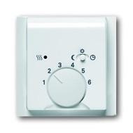 2CKA001710A3577 - Плата центральная (накладка) для механизма терморегулятора (термостата) 1095 U, 1096 U, серия impuls, цвет альпийский белый