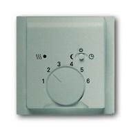 2CKA001710A3579 - Плата центральная (накладка) для механизма терморегулятора (термостата) 1095 U, 1096 U, серия impuls, цвет шампань-металлик