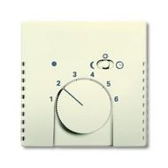 2CKA001710A3568 - Плата центральная (накладка) для механизма терморегулятора (термостата) 1095 U, 1096 U, серия solo/future, цвет savanne/слоновая кость