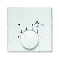 2CKA001710A3669 - Плата центральная (накладка) для механизма терморегулятора (термостата) 1095 U, 1096 U, серия solo/future, цвет серебристо-алюминиевый