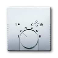2CKA001710A3756 - Плата центральная (накладка) для механизма терморегулятора (термостата) 1095 U, 1096 U, серия pur/сталь