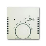 2CKA001710A3939 - Плата центральная (накладка) для терморегулятора 1095 U/UF-507, 1096 U, серия Basic 55, цвет chalet-white