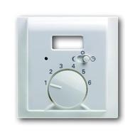 2CKA001710A3733 - Плата центральная (накладка) для механизма терморегулятора (термостата) 1095 UTA, 1096 UTA, серия impuls, цвет альпийский белый