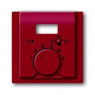 2CKA001710A3819 - Плата центральная (накладка) для механизма терморегулятора (термостата) 1095 UTA, 1096 UTA, серия impuls, цвет бордо/ежевика
