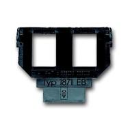2CKA001764A0273 - Суппорт (цоколь) для 2-х разъёмов AMP кат. 3 (6 или 8 пол.)