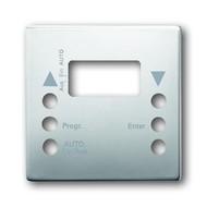 2CKA001012A2140 - Выключатель жалюзи с накладкой, 1 полюс, с фиксацией, альпийский белый
