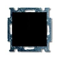 2CKA001012A2177 - Механизм 2-клавишного, 1-полюсного выключателя с клавишей, серия Basic 55, цвет chateau-black