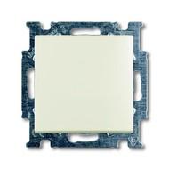 2CKA001012A2191 - Механизм 2-клавишного, 1-полюсного переключателя с клавишей, серия Basic 55, цвет chalet-white