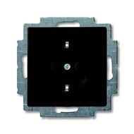2CKA002011A6142 - Розетка SCHUKO 16А 250В, серия Basic 55, цвет chateau-black