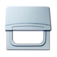 2CKA001710A3785 - Плата промежуточная с крышкой для центральных плат серий Busch-Duro 2000 SI и Reflex SI, IP44, серия Allwetter 44, цвет серебристо-алюминиевый