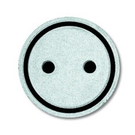 """2CKA001714A0298 - Самоклеющийся прозрачный символ """"РОЗЕТКА"""""""
