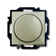 2CKA006515A0845 - Механизм светорегулятора Busch-Dimmer с центральной платой, 60-400 Вт, серия Basic 55, цвет шампань