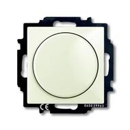 2CKA006515A0847 - Механизм светорегулятора Busch-Dimmer с центральной платой, 60-400 Вт, серия Basic 55, цвет chalet-white