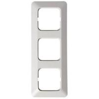 2513 - Рамка 3-постовая, серия Jussi, белый