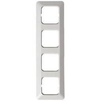 2514 - Рамка 4-постовая, серия Jussi, белый