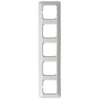 2515 - Рамка 5-постовая, серия Jussi, белый