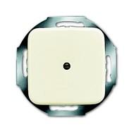 2CKA001710A0623 - Плата центральная (накладка) для вывода кабеля, с суппортом, с компенсатором натяжения, серия Busch-Duro 2000 SI, цвет слоновая кост