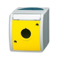 2CKA001724A2753 - Корпус для командно-сигнальных приборов D=22.5 мм, с полем для надписи, серия ocean, цвет жёлтый