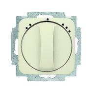 2CKA001164A0136 - Механизм переключателя 1-полюсного на 2 положения, с центральной платой, серия Busch-Duro 2000 SI, цвет слоновая кость
