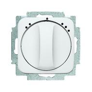 2CKA001164A0144 - Механизм переключателя 1-полюсного на 2 положения, с центральной платой, серия Reflex SI, цвет альпийский белый