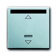 2CKA006020A1383 - ИК-приёмник с маркировкой для 6953 U, 6411 U, 6411 U/S, 6550 U-10x, 6402 U, серия solo/future, цвет серебристо-алюминиевый