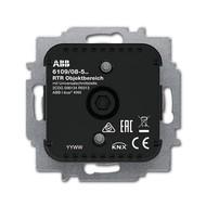 2CKA006134A0313 - 6109/08-500 Терморегулятор с суппортом, со встроенным датчиком температуры, для общих зон, без дисплея + 5 входов