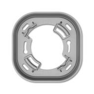 2CKA006132A0404 - 6131/38-183-500 Короб VDE для открытого монтажа датчика KNX/Sky, серебристый алюминий