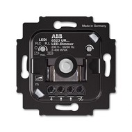 2CKA006512A0345 - Механизм светорегулятора LED, поворотный, 2-100 Вт/ВА, без монтажных лапок