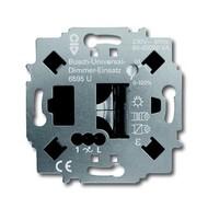 6590-0-0188 - Механизм радиоуправляемого светорегулятора 6595 U, 60-450Вт, 230В, для СД-индикатора, 1 канал, скрытый монтаж, с суппортом