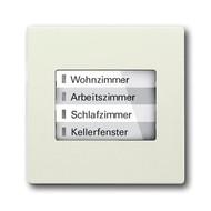 6730-0-0066 - LED-индикатор 6730-896-500, радиоприемник настенный клавишный, axcent, шале-белый